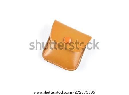 Little case on white - stock photo