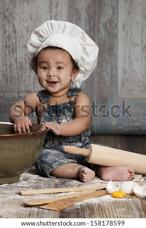 Little Chef. - stock photo