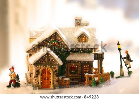 Little christmas house