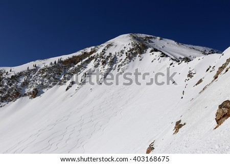 Little Cottonwood Canyon Skiing, Utah