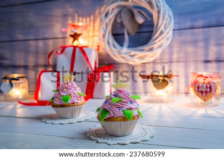 Little Cupcake for Christmas