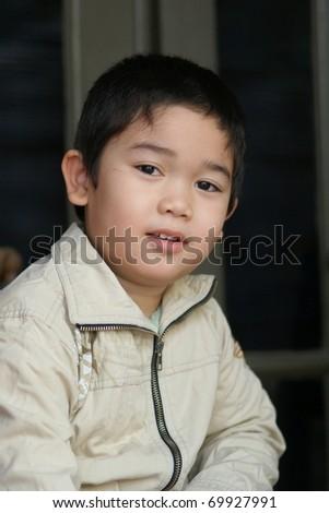 Little Cute Boy - stock photo