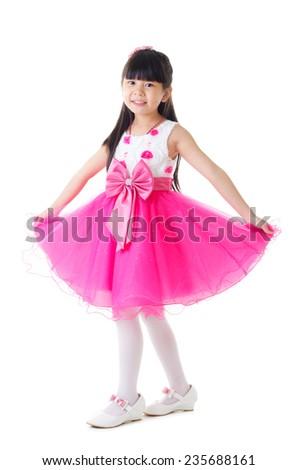 little fashion model - stock photo
