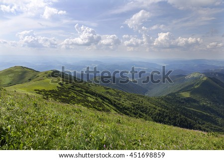 Little Fatra, the beautiful Mountains  in Slovakia
