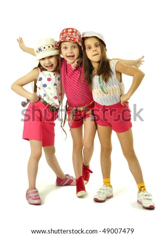 Little friends - stock photo