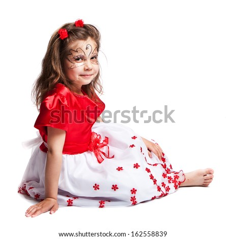 Little girl - stock photo