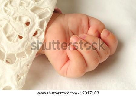 Little hand - stock photo