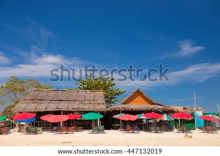 little island in Thailand - stock photo