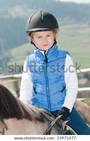 Little jockey - stock photo