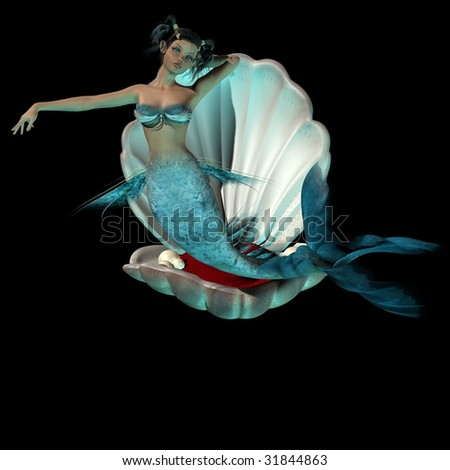 Little Mermaid - stock photo