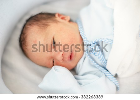 Little newborn baby