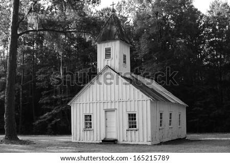 Little Old Church,  - stock photo