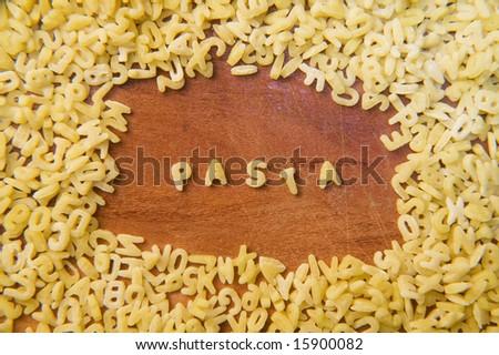 Little Pasta - stock photo