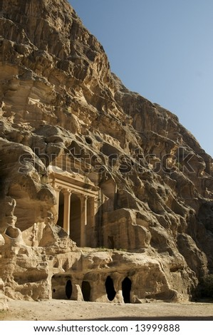 Little Petra, Jordan - stock photo