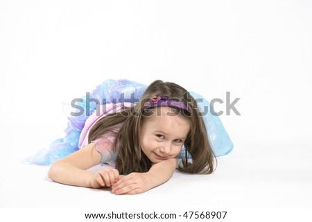 little princess - stock photo