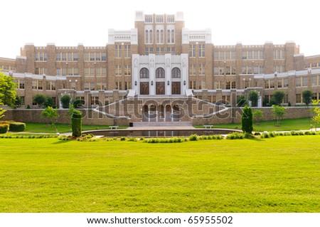 Little Rock Central High School - stock photo