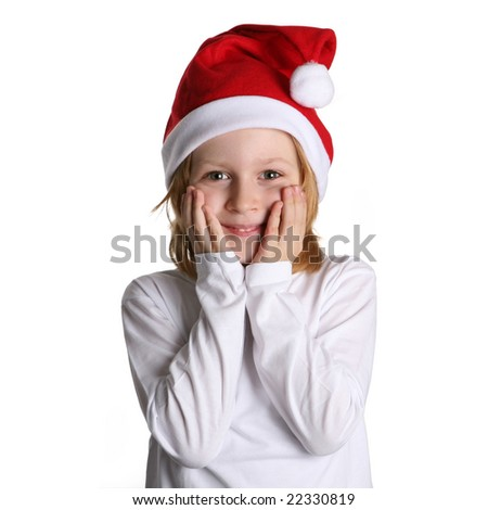 little santa - stock photo