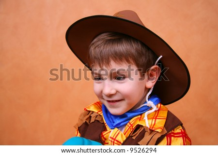 Little sheriff - stock photo