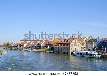 Little Venice - Bamberg, Germany - stock photo