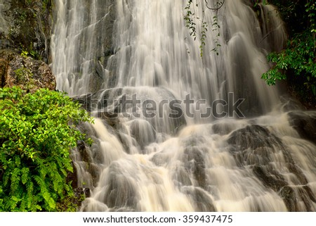 Little Waterfall, Barron Gorge National Park, Cairns, Queensland, Australia