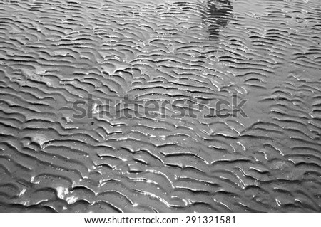little waves - stock photo