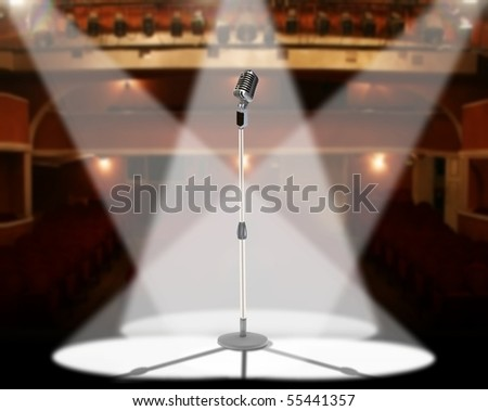 Live in concert - stock photo