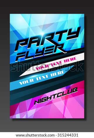 Live music event, party design with place for text on black background - stock photo