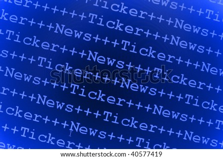 Forex live news ticker