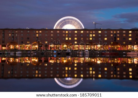 Liverpool Albert Dock at Night