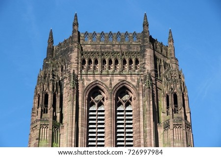 Liverpool Cathedral Of The Church England Gothic Revival Landmark