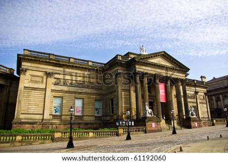LIVERPOOL, ENGLAND - JUNE 5: Walker Art Gallery on June 5, 2009 in Liverpool, England. Walker Art Gallery  is the national gallery of the North.