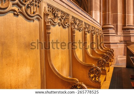 Liverpool's Anglican Cathedral - stock photo