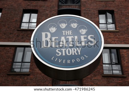 LIVERPOOL, UK - JUNE 16: The Beatles Story, opened since May 1990 in Albert Dock, Liverpool, gives guests an exciting journey into the life, times, culture and music of the Beatles. June 16, 2011