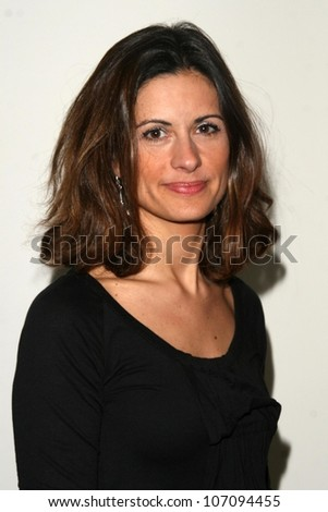 Livia Firth  at the 60th Anniversary of the Universal Declaration of Human Rights gala hosted by Amnesty International USA. Zune, Los Angeles, CA. 11-20-08 - stock photo