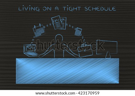Tight Schedule Stock Images, Royalty-Free Images & Vectors ...
