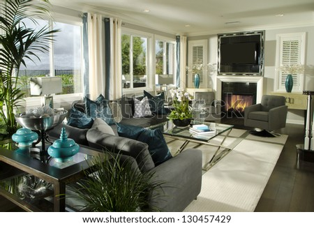 Living room Interior Home  Architecture Stock Images, Photos of Living room, Dining Room, Bathroom, Kitchen, Bed room, Office, Interior photography. - stock photo