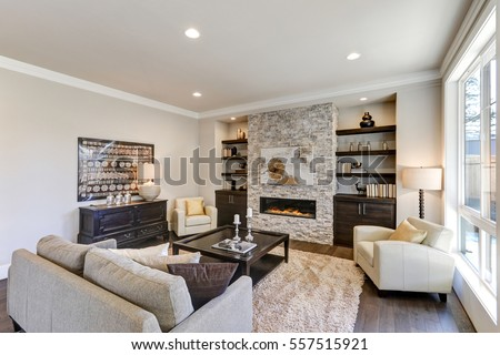 dark brown hardwood floors living room. Living Room Interior In Gray And Brown Colors Features Sofa Atop Dark Hardwood Floors Facing