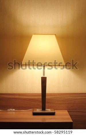 Living room lamp - stock photo