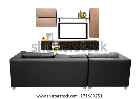 Living room objects. - stock photo