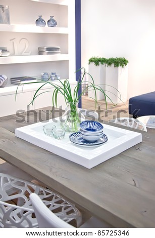 living room table - stock photo