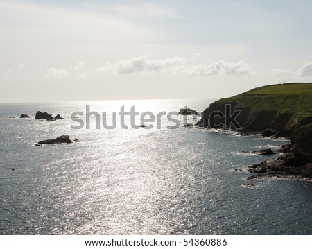 Lizard Point Coastline in Cornwall