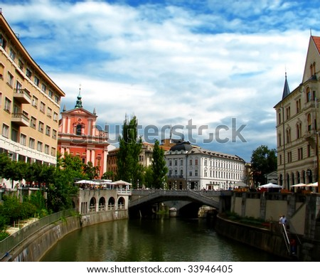 Ljubljana - stock photo