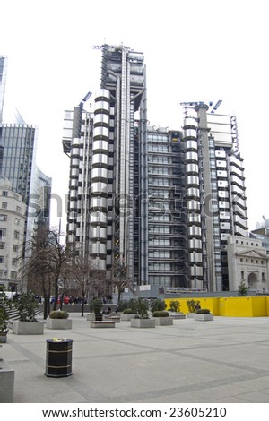 Lloyds Tower in the City of London, England