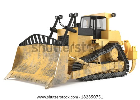 Loader isolated - stock photo