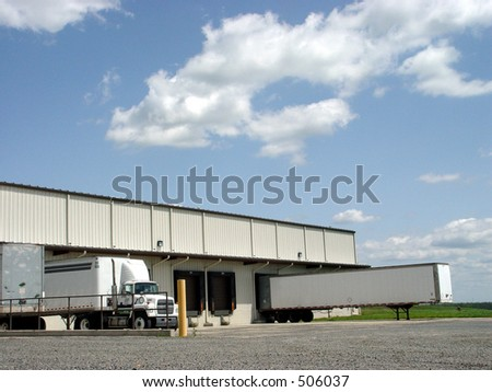 Loading Dock on a nice sunny day