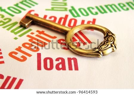 Loan concept - stock photo