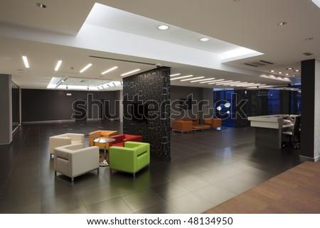 lobby - stock photo