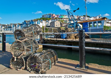 Lobster and Crab Traps - stock photo