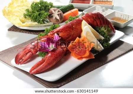 lobster cuisine