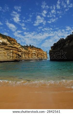 Loc Ard Gorge - Australia - stock photo